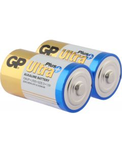 Ultra Plus Alkaline D - 2 Batterien