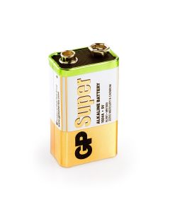 Super Alkaline 9V - 1 Batterie
